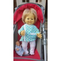 Кукла характерная Schildkrot 38 см. Мальчик-улыбашка!