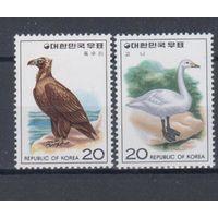 [322] Юж. Корея 1976.Фауна.Птицы.(2)