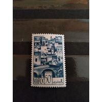 1947 французская колония Марокко архитектура чистая MNH**(2-12)