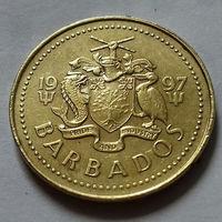 5 центов, Барбадос 1997 г., AU