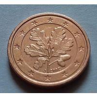 1 евроцент, Германия 2002 J
