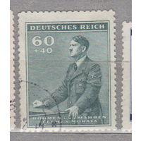 Германия рейх  Богемия и Моравия  53 года со дня рождения Адольфа Гитлера известные люди 1942 г лот 6