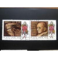 Ватикан 1978 папа Павел 6 в живописи полная серия