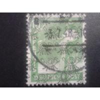 Германия 1948 надпечатка Бизония 10 пф.