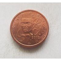 2 евроцента 2012 Франция