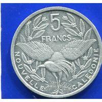 Новая Каледония 5 франков 2008