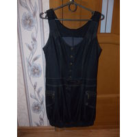 Платье джинсовое, сарафан