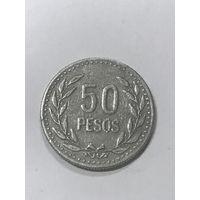 50 песо, 1990 г., Колумбия