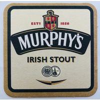 Подставка под пиво Murphy's Irish Stout /Ирландия/