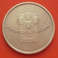 Токен Automatisch Lekkere Koffie (НИДЕРЛАНДЫ)- для кофе-машин - 22 мм