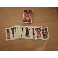 Игральные карты звёзды НБА(времён Баркли,Сабониса).Конец прошлого века.Почтой не высылаю.Самовывоз.