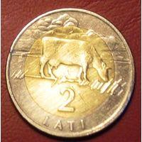 2 лата 1999 Латвия