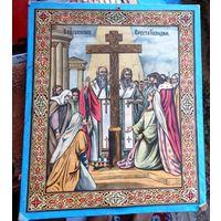 Икона Воздвижение Креста.