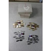 Набор знаков разоружения СССР, в серебре и в золоте. (цена за один набор 15 шт. любой на выбор) Новые с хранения.