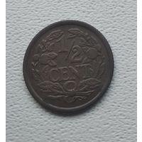 Нидерланды 1/2 цента, 1934  5-1-31