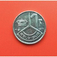 Бельгия, 1 франк 1991 г. Французский тип. Распродажа!