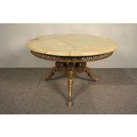 Журнальный круглый столик  Gem, Редкий, середина 20 века, Испания.