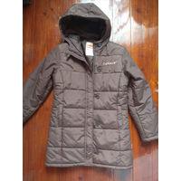 Куртка на холодную осень, теплую зиму. Рост 164