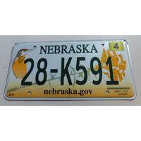 Номер, знак автомобильный США, б/у