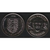 Official England Squad. Goalkeeper. Nigel Martin -- 1998 - The Official England Squad Medal Collection (f01)