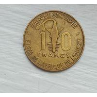 10 Франков 1976 (Центральная Африка)