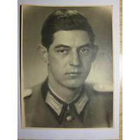 Фотография, большой студийный портрет, военнослужащий германской армии, 1941-42 гг.