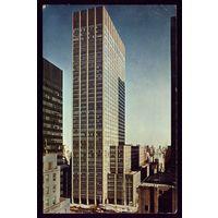 США Нью-Йорк Штамп ООН