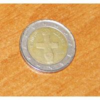 Кипр 2 евро 2009 XF