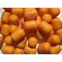 Яйца пустые капсулы от киндер 50 Шт для поделок и не только Цвет жёлтый на застежке, те что на фото