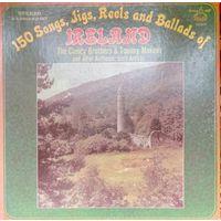 150 Songs, Jigs,Reels and Ballads of IRELAND  1963, Murray, 5LP, VG+