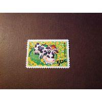 Австралия 2005 г.Вниз по ферме.Эбигейл корова.
