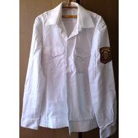 Милицейская рубашка (белая)