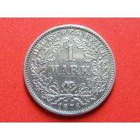 1 марка 1876 года МД Штутгарт