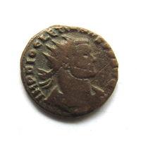 Бронза Имп.Диоклетиан.Древний Рим.