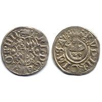 Грошен (1/24 талера) 1609, Германия, Хильдесхайм (епископство). Коллекционное состояние