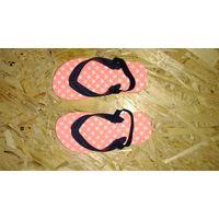 Пляжные flip-flop флип-флопы босоножки, р.25-26