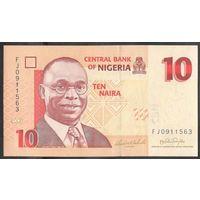 Нигерия 10 найра 2008. UNC