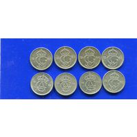 Швеция 6 монет по 10 эре (1973,80,82,83,84,88). На выбор