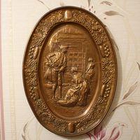 Старая английская чеканка (медь),клеймо