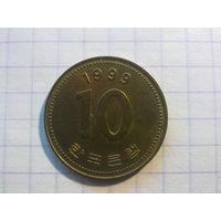 Корея Южная 10 вон 1999