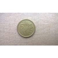 Польша 5 грошей, 2016г. (D-16)