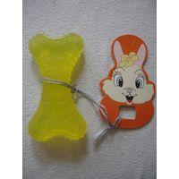 Игрушка для собак силиконовая косточка