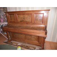 Пианино фортепиано антикварное немецкое W.Emmer in Berlin нач.20-го века,орех.