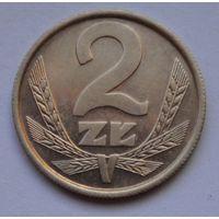 Польша 2 злотых, 1984 г.