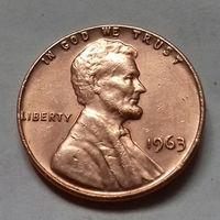 1 цент США 1963 г.