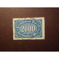 Германия 1923 г.Номинал.