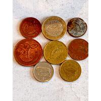 Монеты Ирландии с рубля.