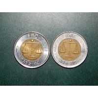 Эфиопия 1 быр 2010 цена за монету