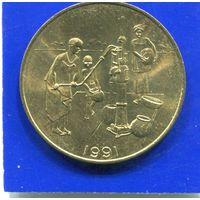 Западная Африка 10 франков 1991