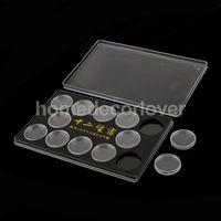 Коробка держатель для 12 монет в капсулах 27 мм.  распродажа